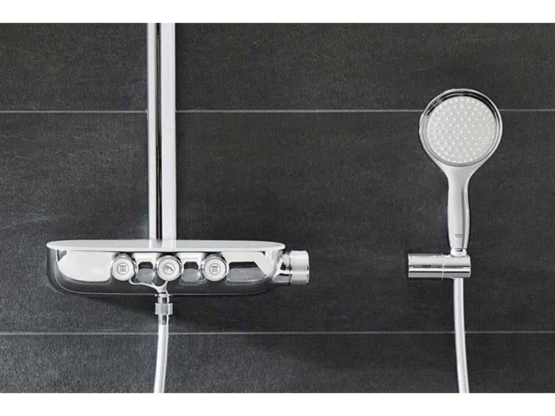 Grohe 20474000 Стенен  смесител за мивка