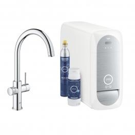 GROHE Кухненски комплект за филтрирана, газирана и изстудена вода BLUE HOME с С чучур 31455001