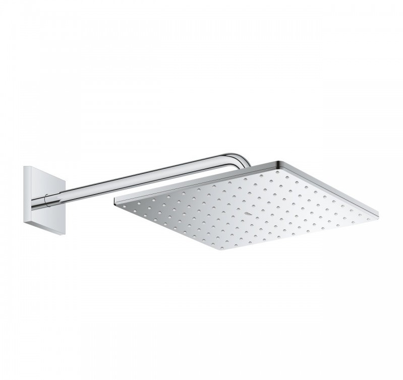 GROHE Комплект душ гарнитура с квадратна пита с рамо RAINSHOWER 310 MONO CUBE 26563000