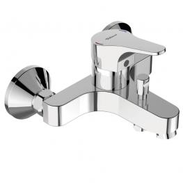 VIDIMA смесител стенен за вана душ СЕВА НЕКСТ B7443AA
