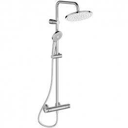 IDEAL STANDARD Душ система със стенен термостатен смесител за душ IDEALJET EVO