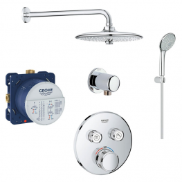 GROHE Комплект за вграждане GROHTHERM SMARTCONTROL и NEW TEMPESTA 100