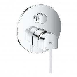 GROHE едноръкохватков смесител за вграждане за вана/душ, външна част с 3-степенен GROHE PLUS 24093003