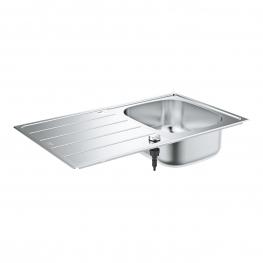 GROHE Кухненска мивка от неръждаема стомана с отцедник K200 31552SD1