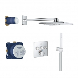 GROHE Комплект душ гарнитура RAINSHOWER SMARTACTIVE 310 CUBE GROHTHERM SMARTCONTROL 34706000