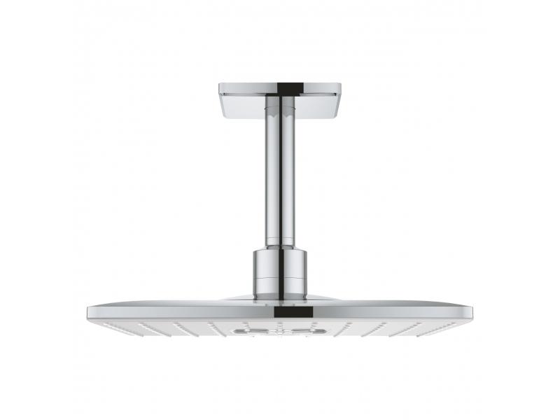 GROHE Комплект душ пита с монтаж към тавана 142мм, 2 струи, RAINSHOWER SMARTACTIVE 310 26481000