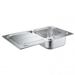 GROHE Кухненска мивка от неръждаема стомана с отцедник K500 31563SD1