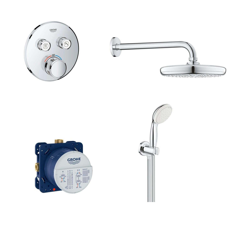 GROHE Термостатен душ комплект за вграждане 29119000 ; 26412000 ; 26406001 ; 35600000
