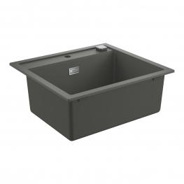 GROHE Кухненска мивка композитна с 1 корито и автоматичен сифон сив гранит K700 31651AT0