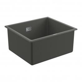 GROHE Кухненска мивка композитна с 1 корито за вграждане сив гранит K700U 31653AT0