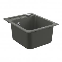GROHE кухненска мивка композитна с 1 корито и автоматичен сифон сив гранит K700 31650AT0